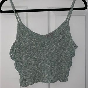 Charlotte Russe knitted crop top